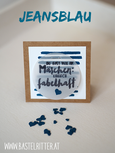 Stampin' up! In Color 2016-2018 Jeansblau
