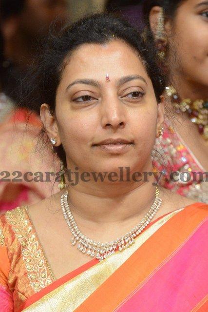 Balakrishna Wife Jewelry Jewellery Designs