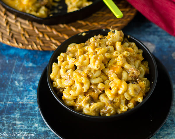 Macaroni and Cheese recipe with Oxtail