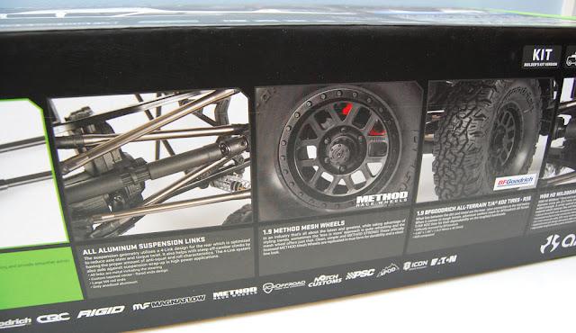 Axial SCX10 II Box Details