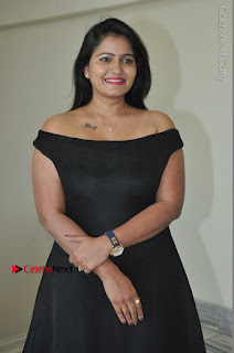 Telugu Actress Swathi Reddy Latest Stills in Black Gown  0018.JPG