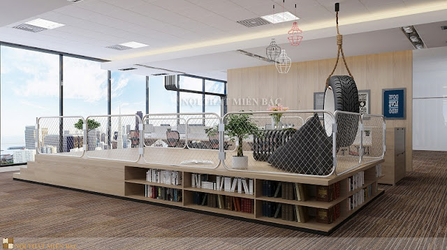 Cách thiết kế nội thất văn phòng đẹp và chuyên nghiệp - H3