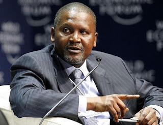 Aliko Dangote Africa's richest person
