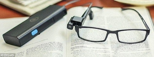 Modern Technology! Scientist Invents the 'Life-changing' Glasses Helping Blind People to See (Photos)