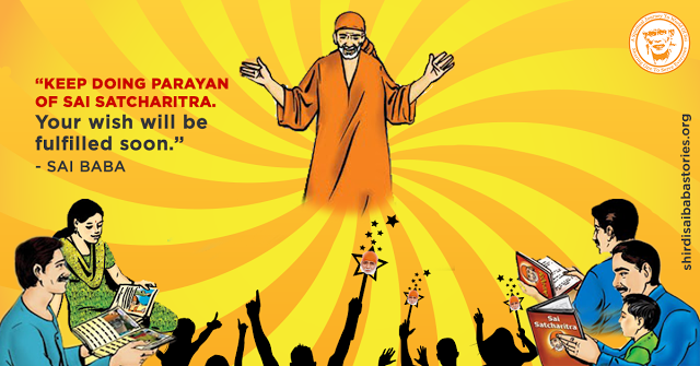 Baba's Dream Saying Mahaparayan Is A Blessing And Boon To All Sai Children