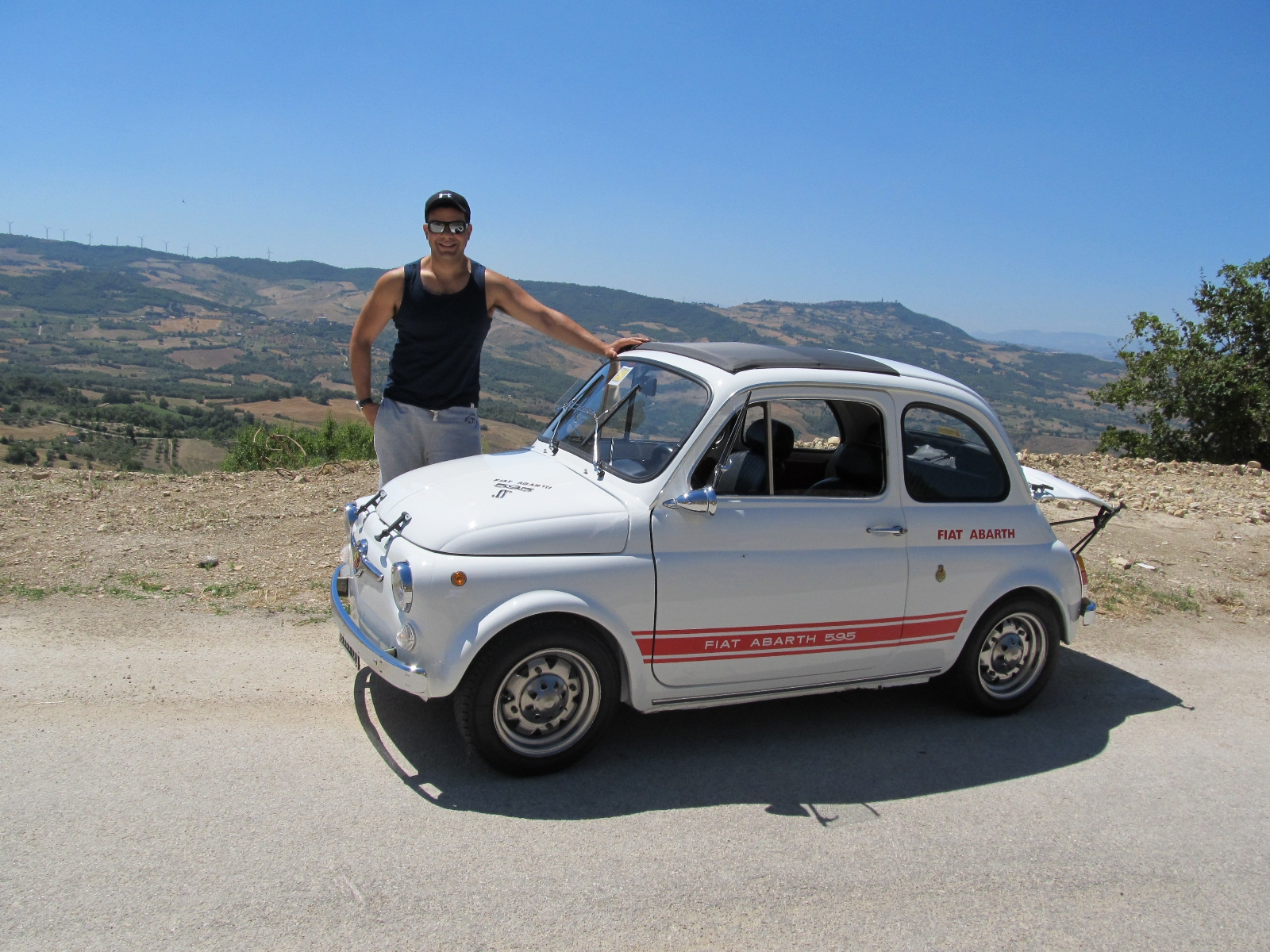 abarth fiat 500 595 1959 1971 the museum of cars. Black Bedroom Furniture Sets. Home Design Ideas