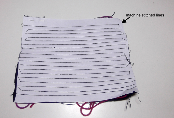 sewing machine art, sewing machine ideas, craft with sewing machine