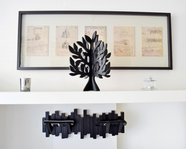 drewniane drzewko