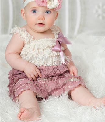 Model Baju Bayi Perempuan longdress