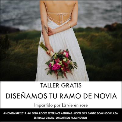 taller diseñamos tu ramo de novia - la vie en rose