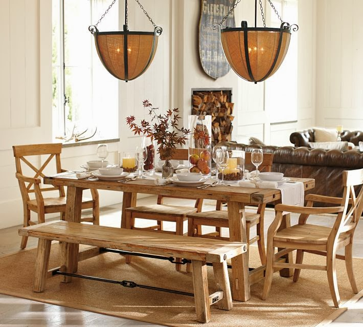 Pottery Barn Wood Table: My Christmas Wishlist