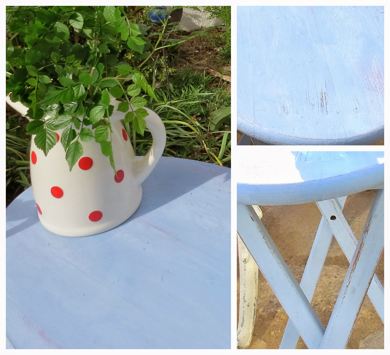 Folding Chair Lulu Pillow For Bed Art And Sand A Small Change In The Garden