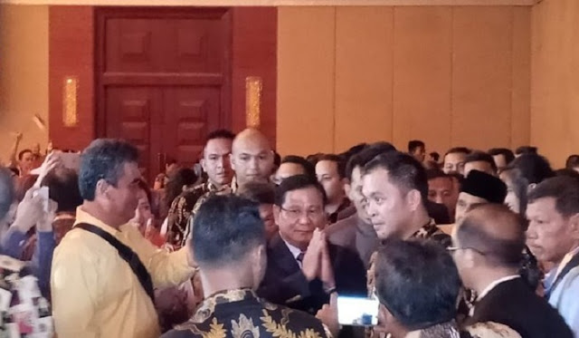 Ramah Tamah Masyarakat Tionghoa: Kita Sambut, Capres Prabowo Subianto