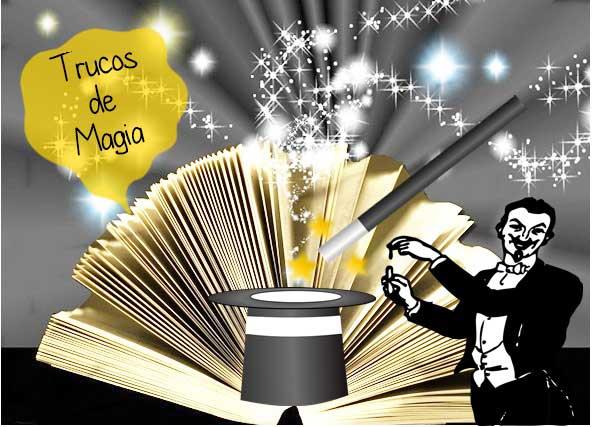 trucos magia, libros
