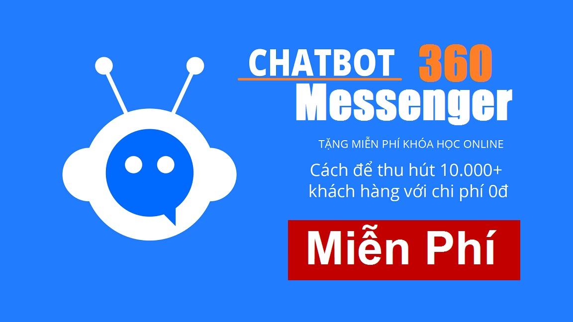 Bán hàng tự động và chăm sóc khách hàng với Chatbot Messenger 1