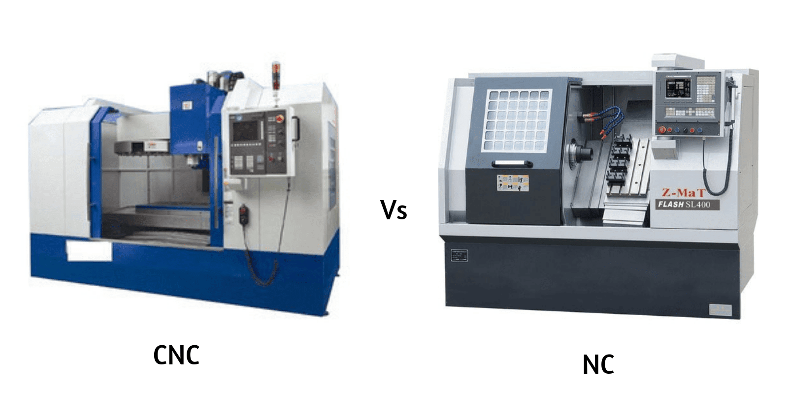 Difference Between Cnc And Nc Machines Mechanical Education