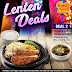 Lenten Deal 2 at Pepper Lunch