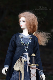 1/4 bjd Viking outfit
