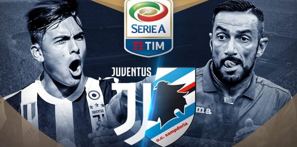 JUVENTUS-SAMPDORIA Streaming Gratis Online: info YouTube Facebook, dove vederla con Android iPhone