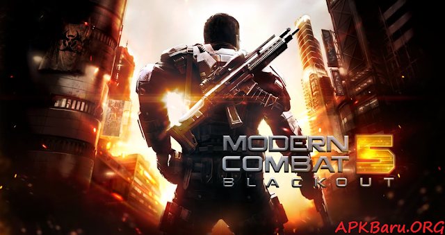 Modern Combat 5: Black Out Mod Apk+Data Terbaru