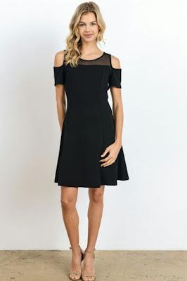 Shoulder Dress untuk ke pesta untuk remaja
