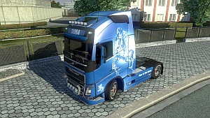 Year of the Horse skin for Volvo FH 2012