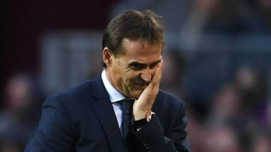 BREAKING NEWS: Real Madrid sack Julen Lopetegui as manager