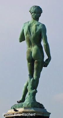 Voyage à Florence, Sculptures, David, Florence, Michel Ange, harmonie retrouvée,
