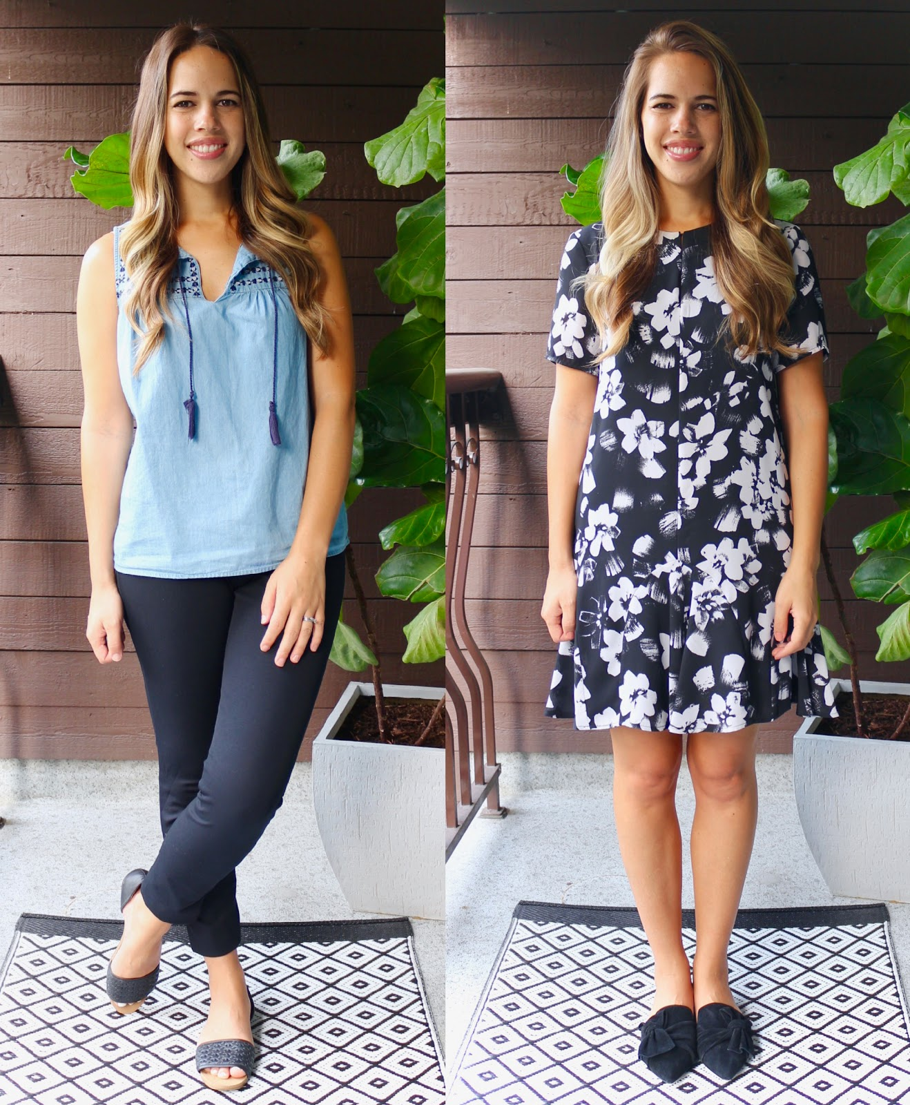 Jules in Flats August Outfits (Business Casual Summer Workwear on a Budget)
