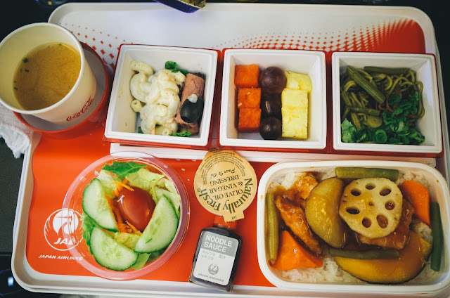 機内食1(昼食) その2