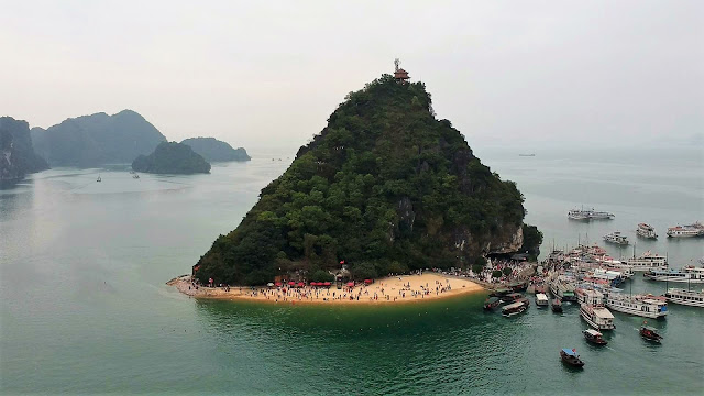 ti top island halong bay vietnam