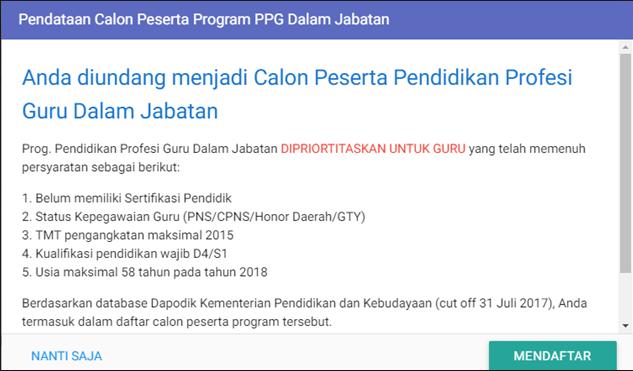 PPG Guru Tahun 2018