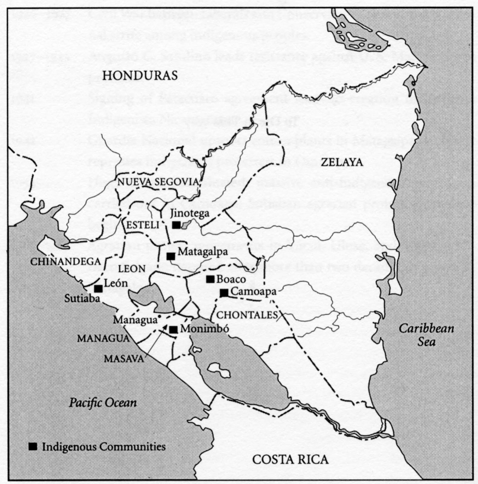 Mapas De Nicaragua 050113