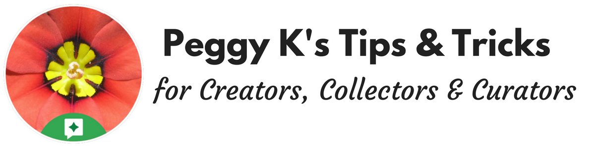 Peggy Ks Tips & Tricks