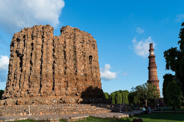 Alai Minar and Qutub Minar