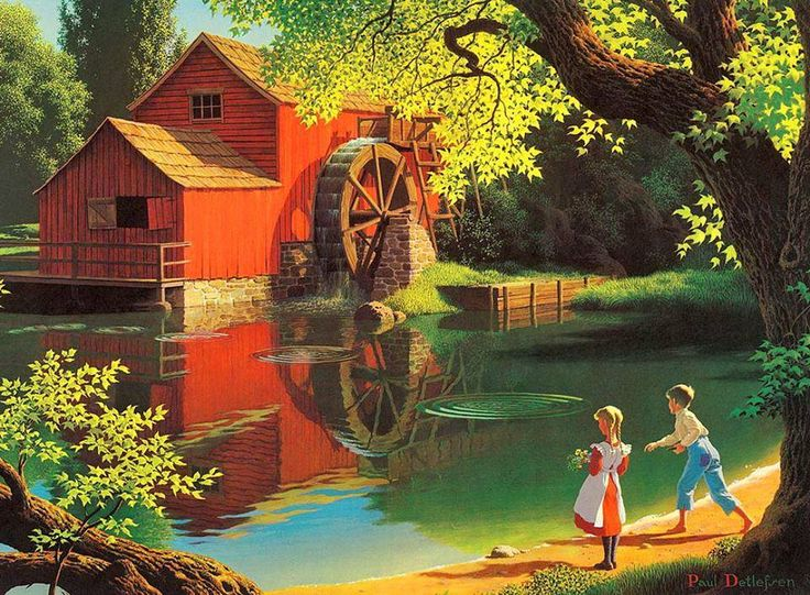 Belíssimas Pinturas de Paul Detlefsen | Maravilha de Pintura!