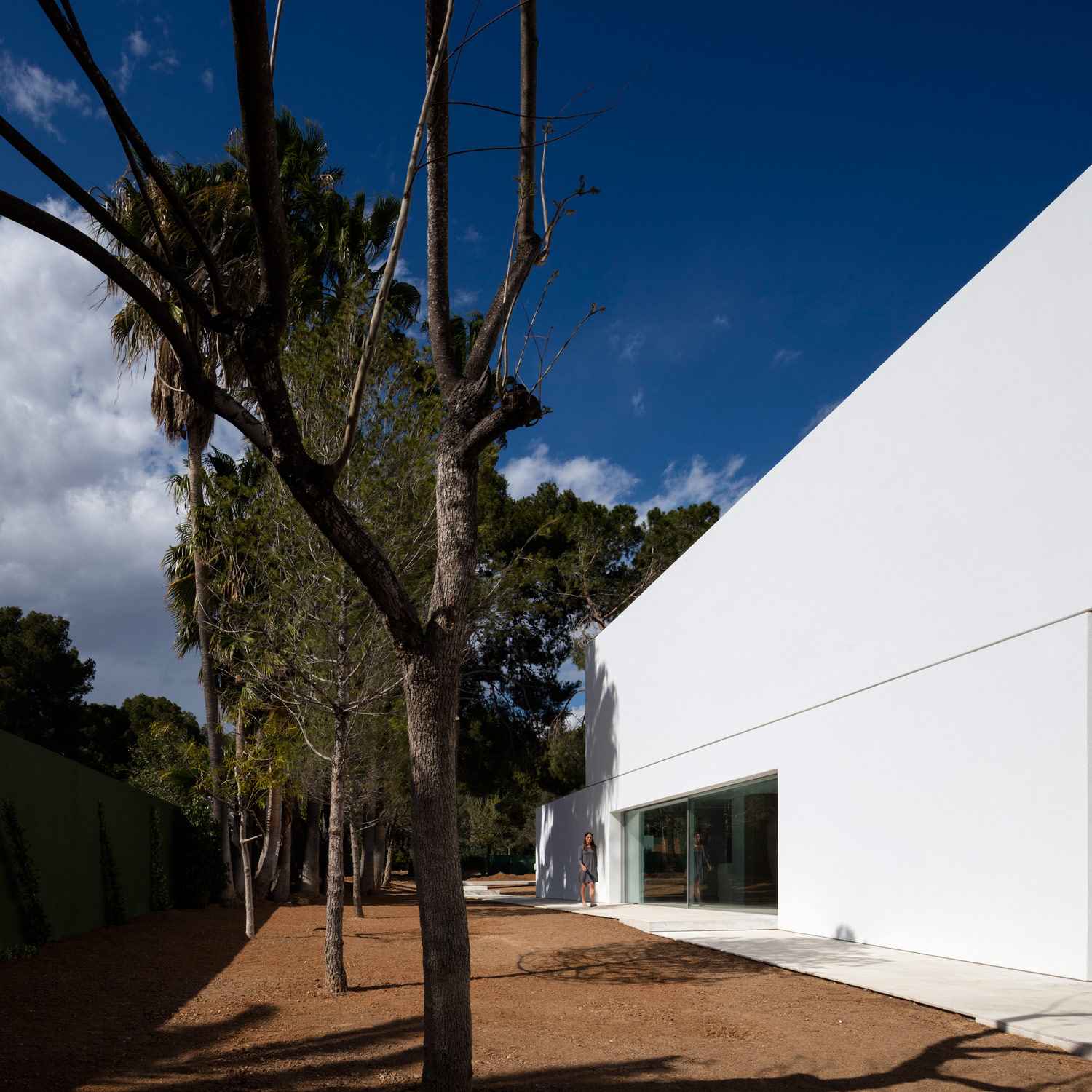 Simplicity Love House Between The Pine Forest Spain