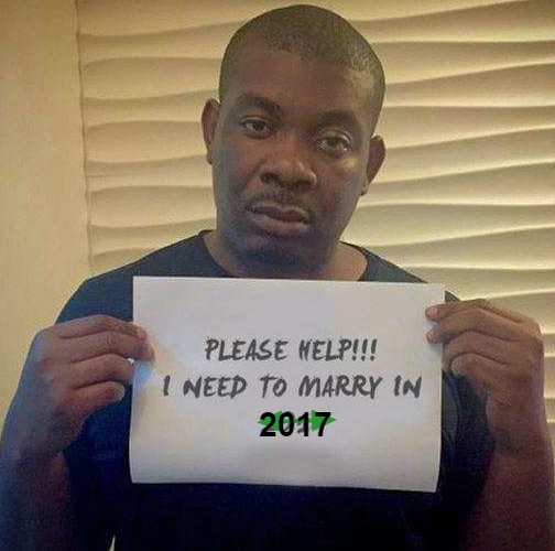 don jazzy getting married 2017