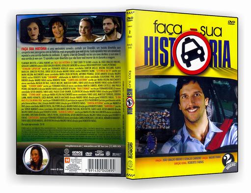 DVD-R – minissérie – Faça sua História – OFICIAL
