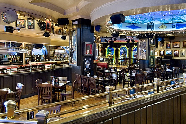 Interior do Hard Rock Cafe em Miami