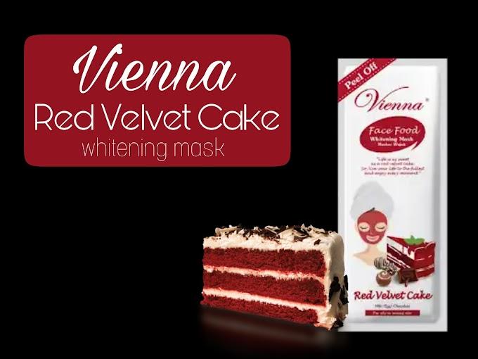 Review Vienna Red Velvet Cake - Peel Off Mask