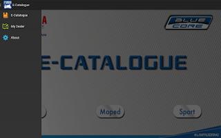 Yamaha E-Catalogue: Melihat Spesifikasi Motor Yamaha Melalui Aplikasi