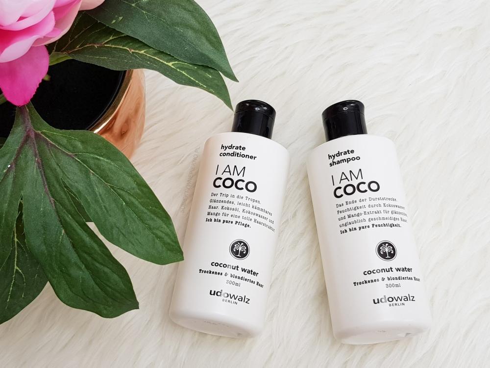ULUBIEŃCY SIERPIEŃ 2018 - szampon i odżywka I am Coco Udo Walz