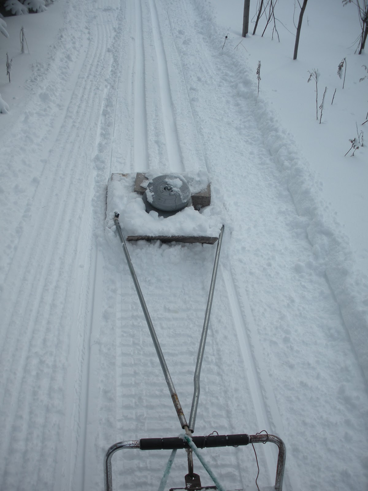 Forbush Corner widens trail for new groomer - NordicSkiRacer  Cross Country Ski Trail Grooming
