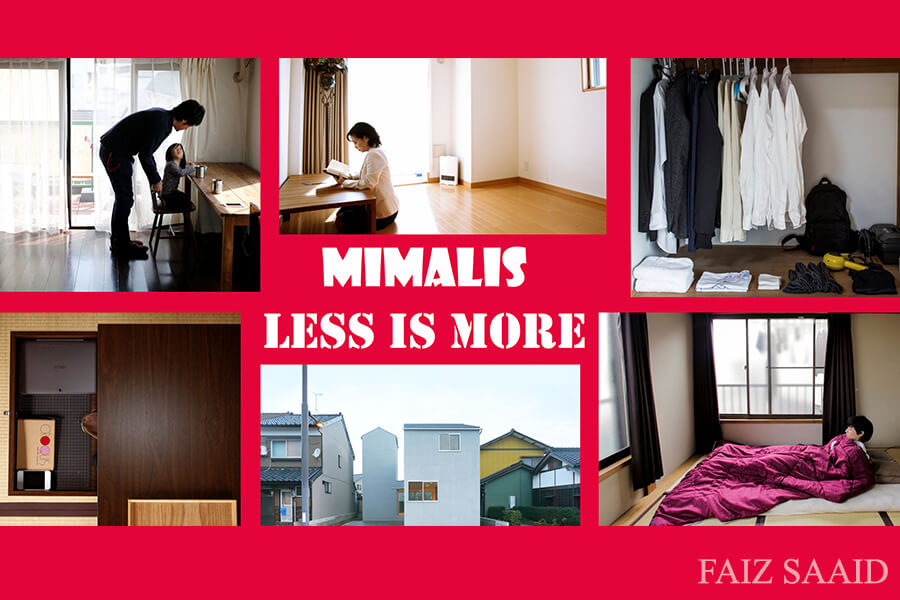 minimalis less is more
