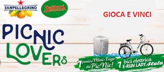 Logo Concorso ''Picnic Lovers'': vinci 28 minifrigo e 4 biciclette elettriche