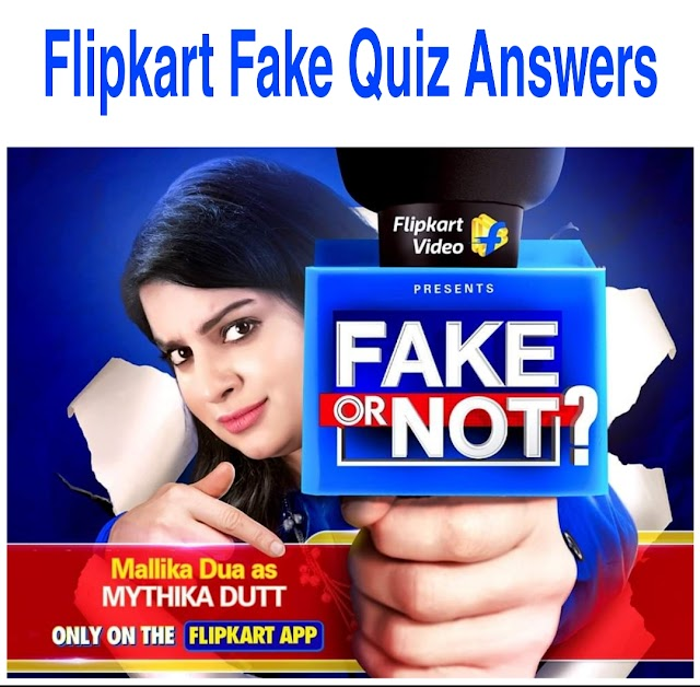 Flipkart fake or not fake 31st August Answers | Invite & Earn