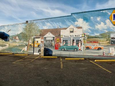 David Hose - Monroe Napa Auto Parts Mural