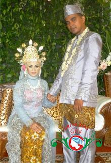 pengantin betawi modifikasi mahkota