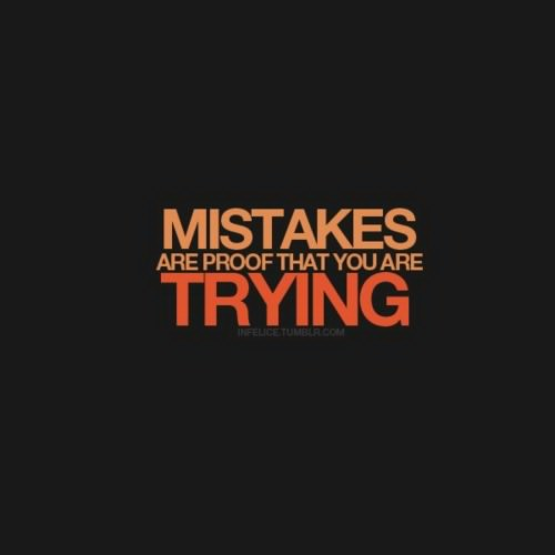 Mistake Quotes: Mistakes Make Good Stories - S.M. Boyce